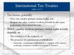international tax treaties slide 2 of 3