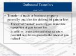 outbound transfers slide 2 of 3