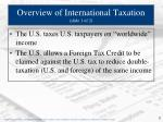 overview of international taxation slide 1 of 2