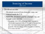 sourcing of income slide 2 of 9