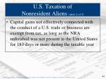 u s taxation of nonresident aliens slide 2 of 3