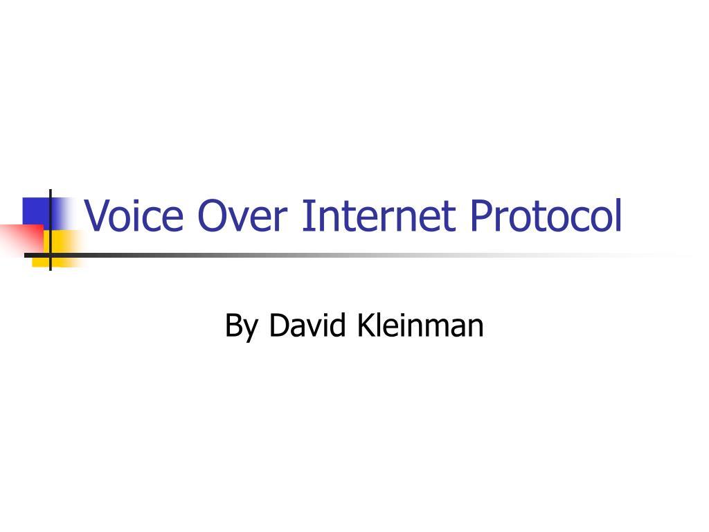 voice over internet protocol l.