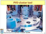 pvd cluster tool