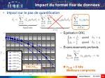 impact du format fixe de donn es23