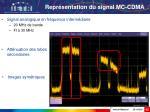 repr sentation du signal mc cdma43