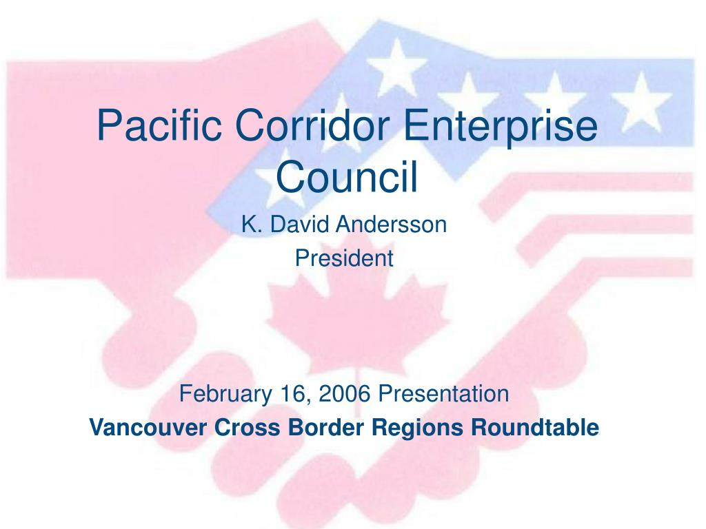 pacific corridor enterprise council l.