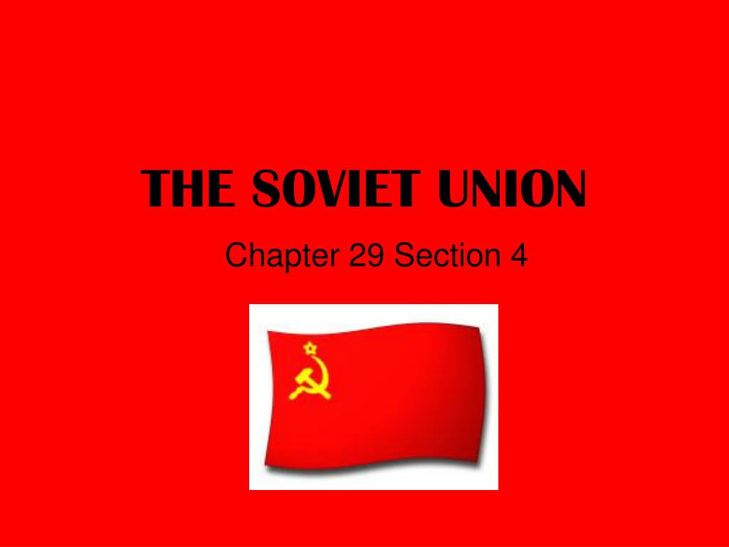 the soviet union l.