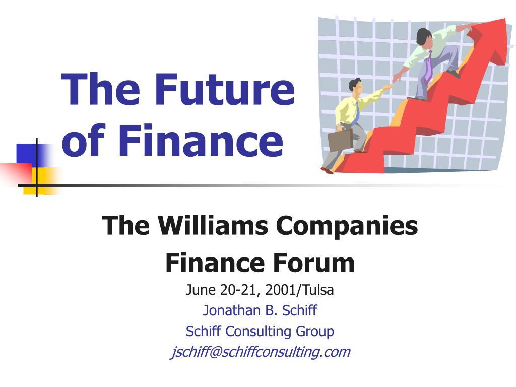 the future of finance l.
