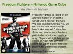 freedom fighters nintendo game cube