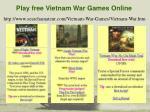 play free vietnam war games online