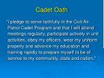 cadet oath