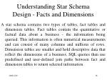 understanding star schema design facts and dimensions
