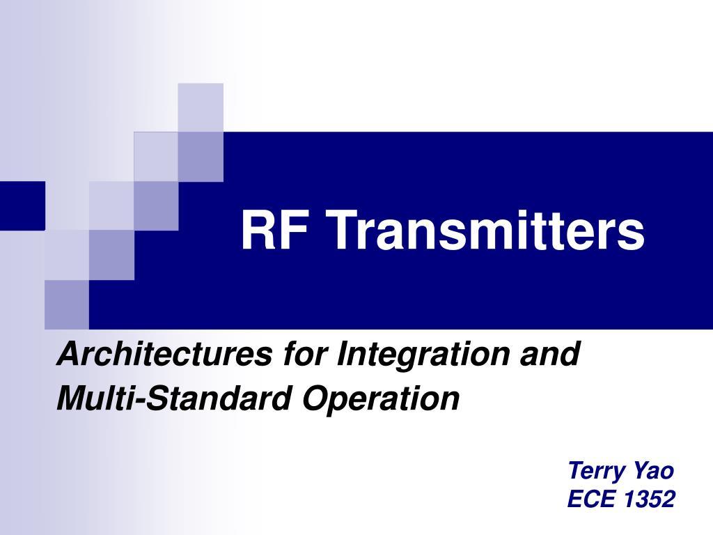 rf transmitters l.