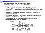 transmitter architectures9