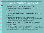classic liberalism continued161