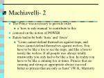 machiavelli 2
