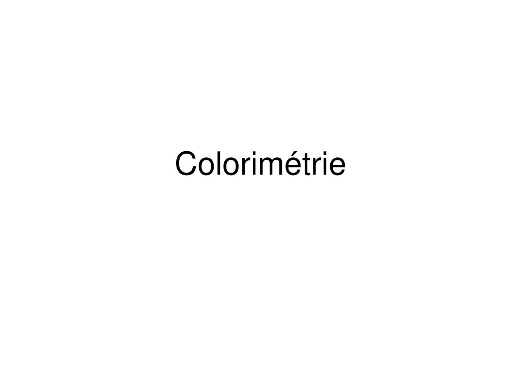 colorim trie l.