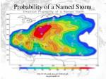 probability of a named storm