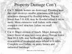 property damage con t