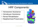 hrf components
