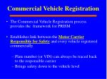 commercial vehicle registration