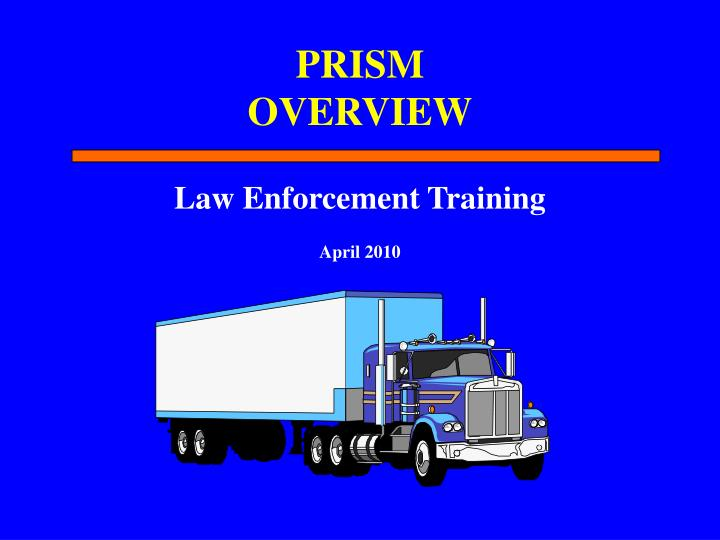 prism overview n.