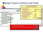 assign costs to activity cost pools12