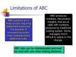 limitations of abc