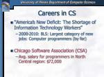 careers in cs