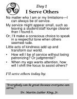 day 1 i serve others