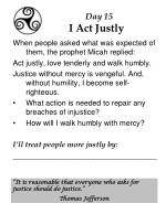 day 15 i act justly
