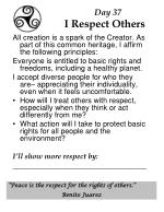 day 37 i respect others