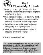 day 9 i change my attitude
