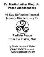 dr martin luther king jr peace ambassadors 4 0 day reflection journal january 18 february 26