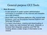 general purpose gui tools21