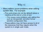 why vi12