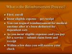 what is the reimbursement process
