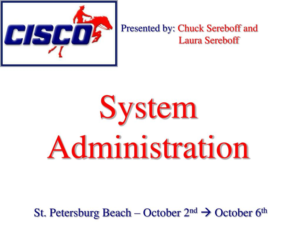 system administration l.