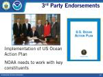 3 rd party endorsements