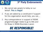 3 rd party endorsements19