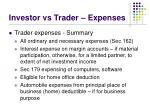 investor vs trader expenses19