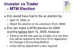 investor vs trader mtm election31