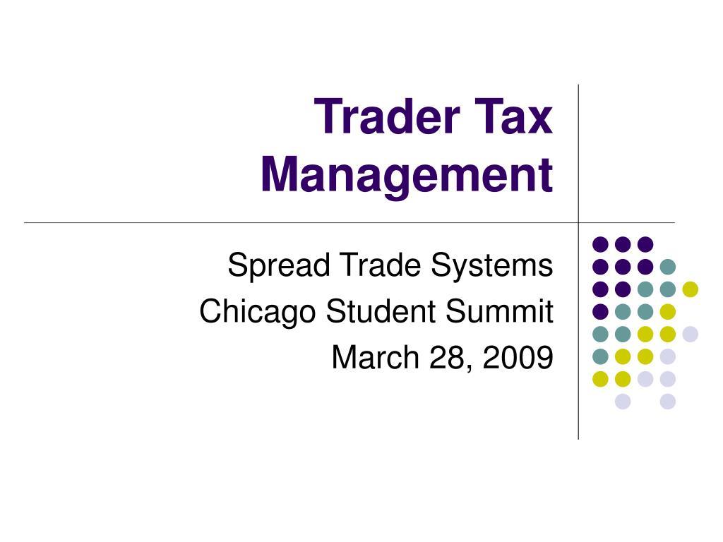 trader tax management l.