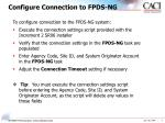 configure connection to fpds ng