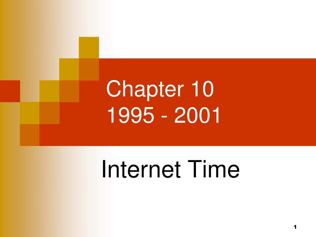 chapter 10 1995 2001 l.