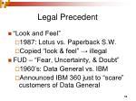 legal precedent