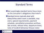 standard terms7