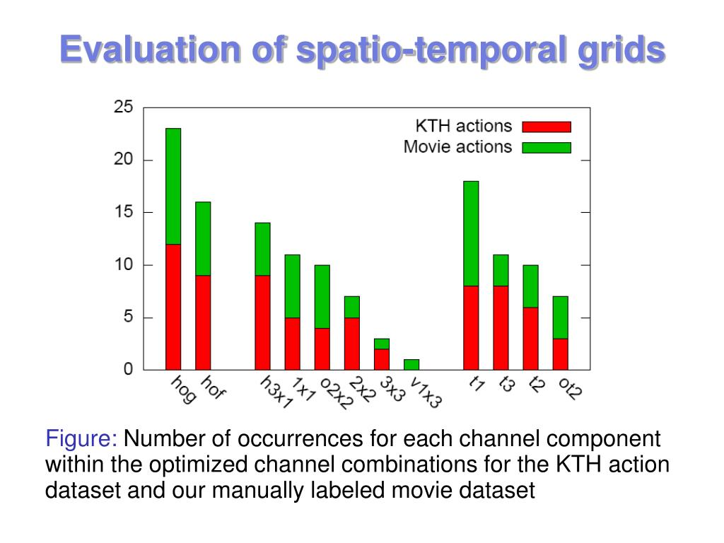 Evaluation of spatio-temporal grids