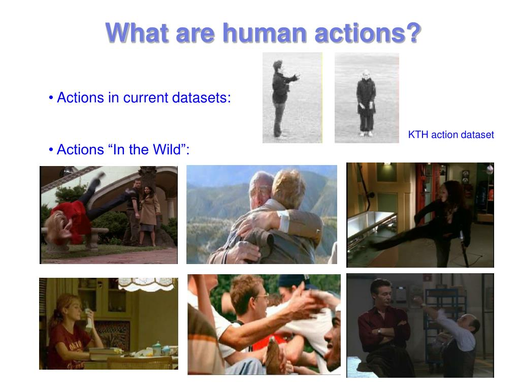 What are human actions?