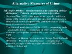 alternative measures of crime
